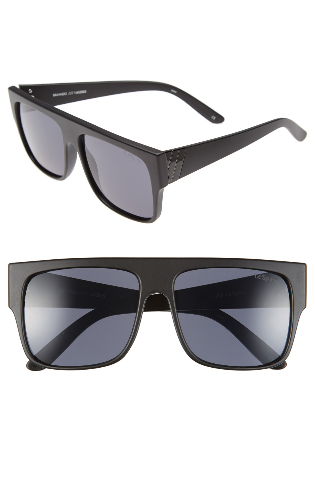 7593f170281b Le Specs 'Bravado' 59mm Retro Sunglasses | Nordstrom