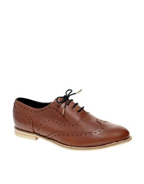 Asos marky traditional leather brogues at asos