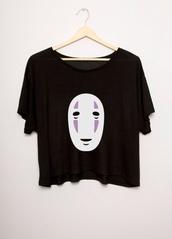 shirt,spirited away,gaonasi,monster