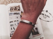 jewels,silver,band,quote on it,danger,pretty,bracelets,belt