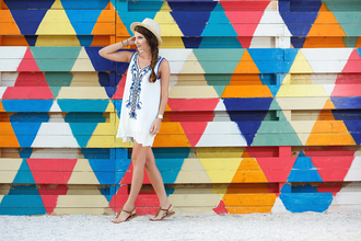 the mysterious girl blogger dress jewels shoes