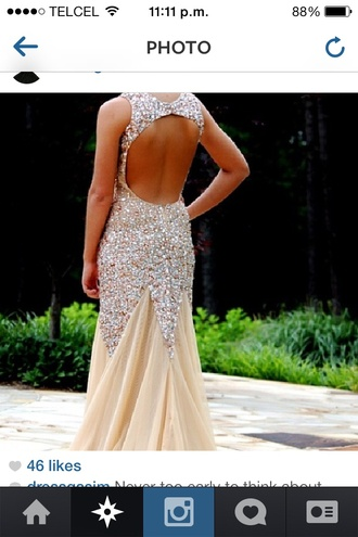dress bautiful gold glitter long prom dress prom dress mermaid prom dress homecoming gala floor lenght dress gold dress evening dress long evening dress evening outfits sexy evening dresses backless prom dress sequin prom dress champagne prom dress champagne dress prom dress 2016 formal dress formal event outfit