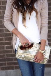bag,gold,sparkle,champagne,shades
