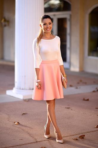 hapa time blogger skirt shoes bag