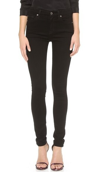 jeans skinny jeans high black