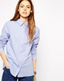 ASOS Casual Twill Shirt at asos.com