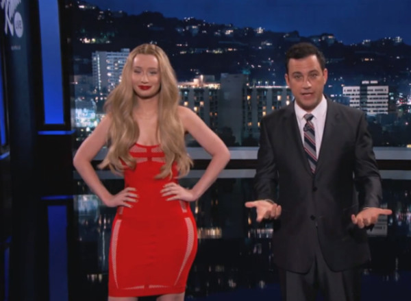 drees red dress iggy azalea