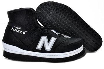 Men's new balance A19PB warm-up Black White Shoes