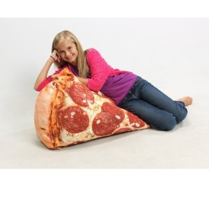 Amazon.com - Slice of Pizza Beanbag Chair - Living Room Furniture Sets