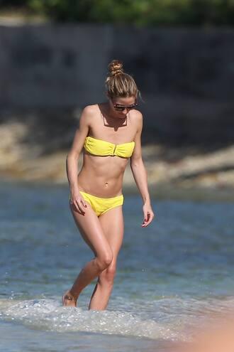 swimwear bikini bikini top bikini bottoms olivia palermo summer beach