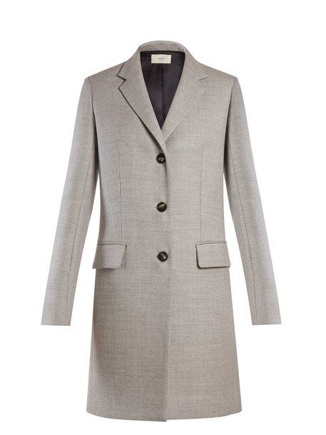 The Row coat light grey