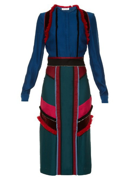 Altuzarra dress midi dress midi blue