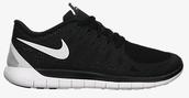 shoes,trainers,me,nike,free,5.0,urgent,black,white