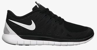 shoes trainers help me nike free 5.0 urgent black white