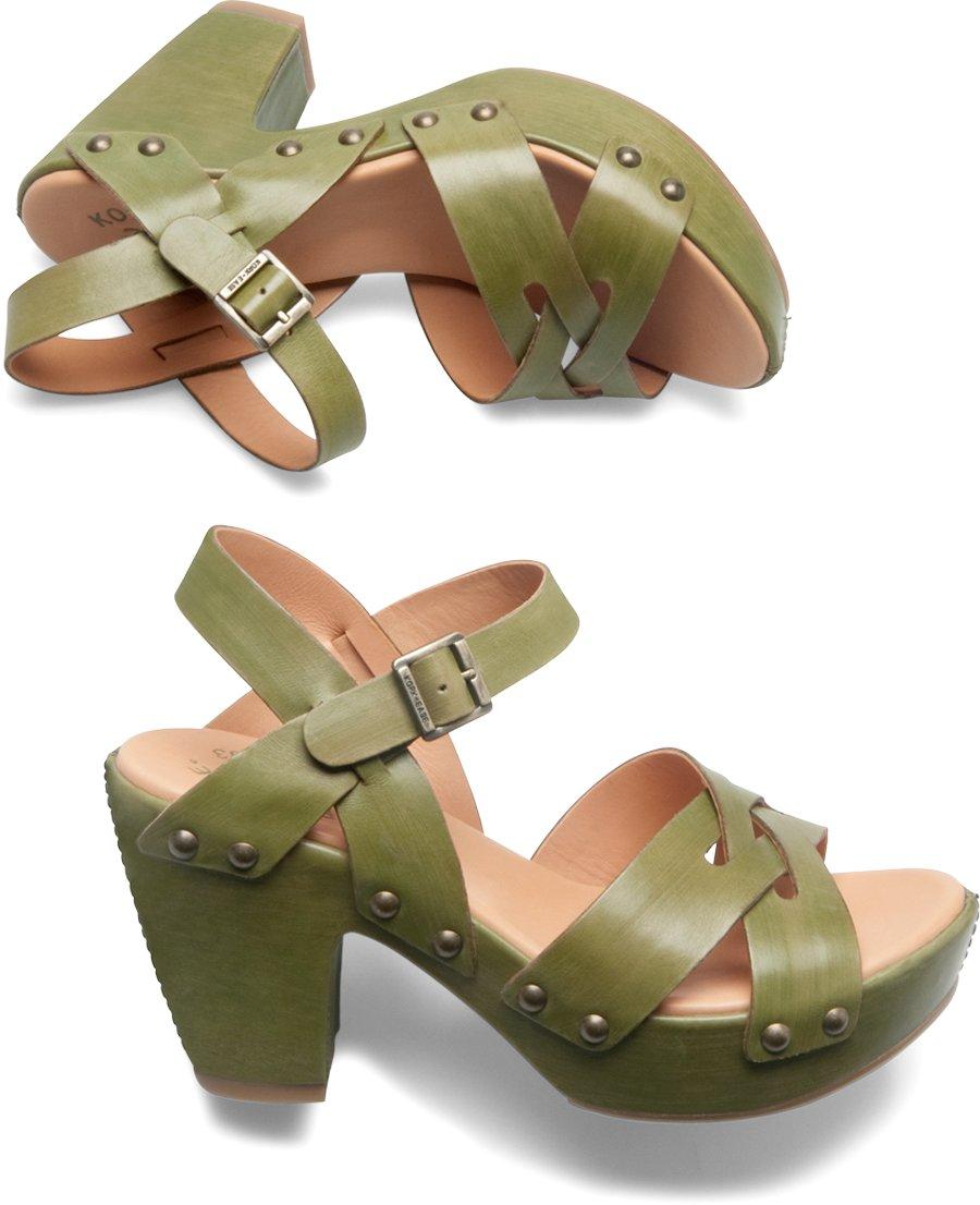 Korkease Deborah in Mimetico - Korkease Womens Sandals on Shoeline.com