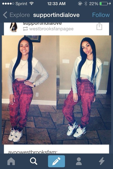 pants red pants india westbrooks cute i want it so bad ! please find it thanks love you guys
