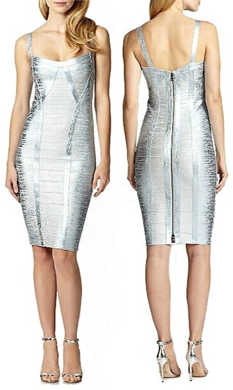dress dream it wear it clothes silver silver dress metallic metallic dress foil foil print woodgrain bandage bandage dress bodycon bodycon dress straps spaghetti strap v neck v neck dress party party dress sexy party dresses sexy sexy dress party outfits summer summer dress summer outfits spring spring dress spring outfits fall outfits fall dress winter outfits winter dress classy classy dress elegant elegant dress cocktail cocktail dress girly date outfit birthday dress holidays holiday season holiday outifts holiday dress herve leger