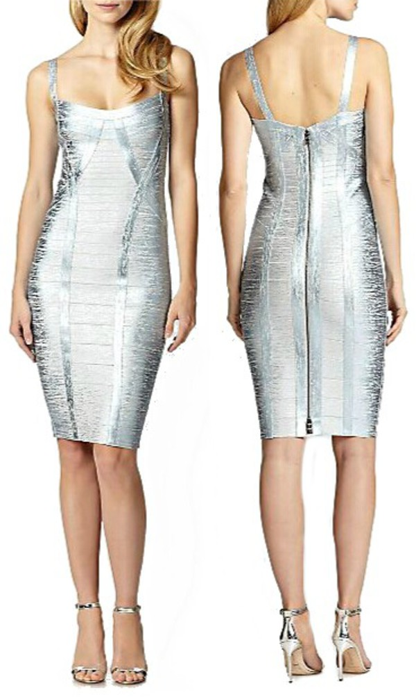 Fashion Bug Metallic Silver Top