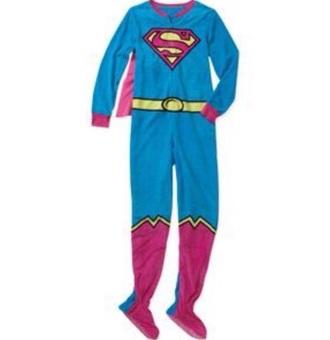 pajamas superman onesie