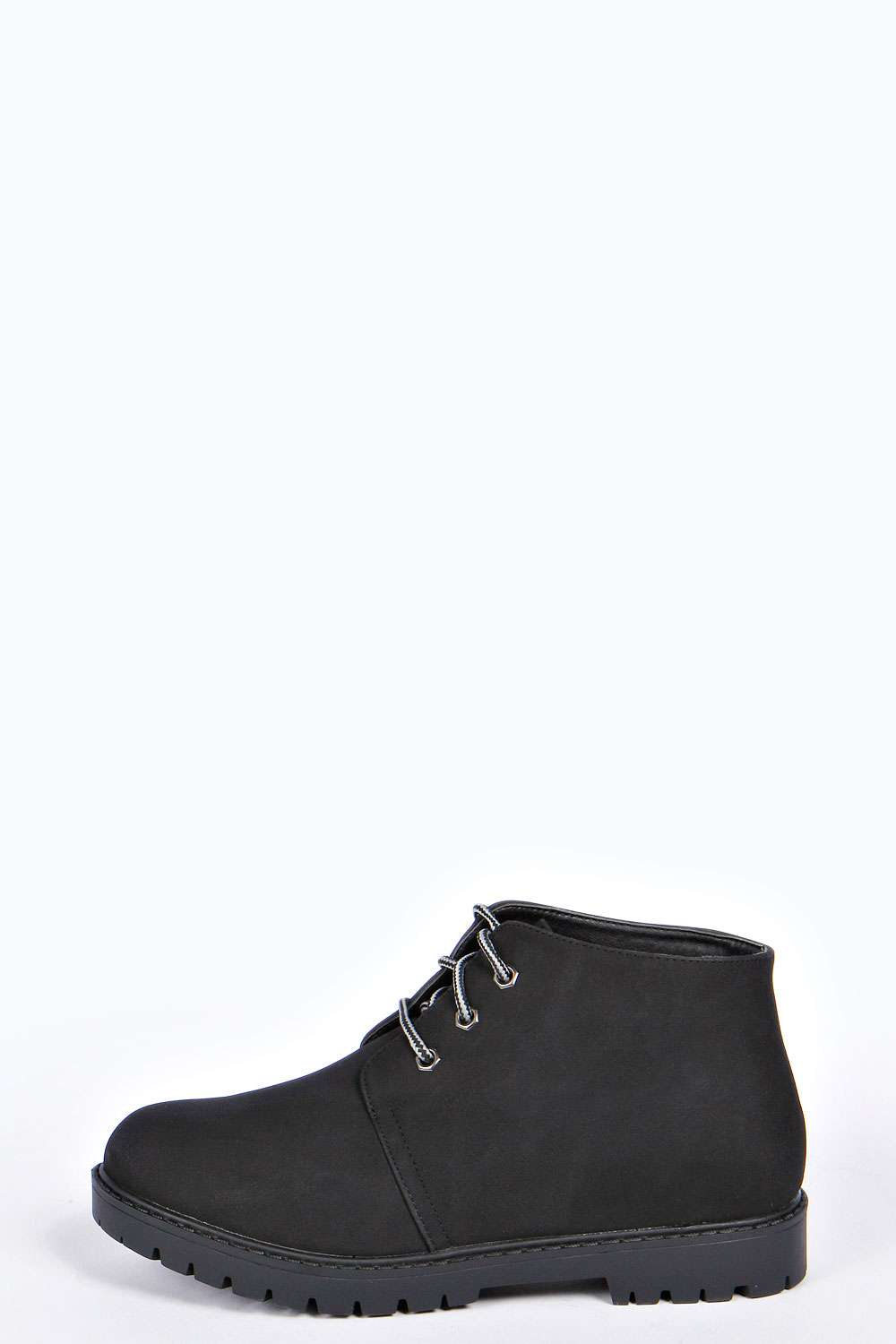Mia lace up desert boots