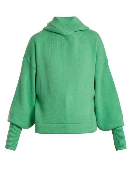 Tibi sweater green