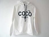 sweater,white,hoodie