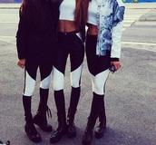 cristine ullebo,leather pants,black,white,pants,jeans,primark,h&m,zara,jacket,jeggins jeans skinny,skinny pants,alternative,2 colors,black and white,high waisted jeans,high waisted,hipster,leggings,black leggings
