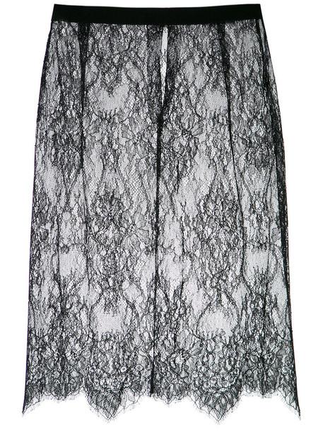 Nk skirt lace skirt women lace black