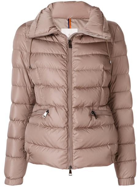 moncler jacket women brown