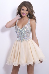 formal dress,formal event outfit,formal,rhinestones dress,short prom dress,prom dress,homecoming dress,short homecoming dress,champagne prom dress,beige dress,sequins,beading prom dress,beaded dress,beaded short dresses,party dress,bridesmaid,dress,free shipping,short mini dresses,tulle dress,free shipping dres,white dress,yellow,yellow dress,yellow prom dress,short dress,beaded,pretty,beautiful,low cut,sparkle,dances,dressofgirl