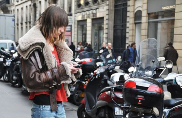 jacket brown shearling jacket shearling jacket shearling brown jacket top red top streetstyle