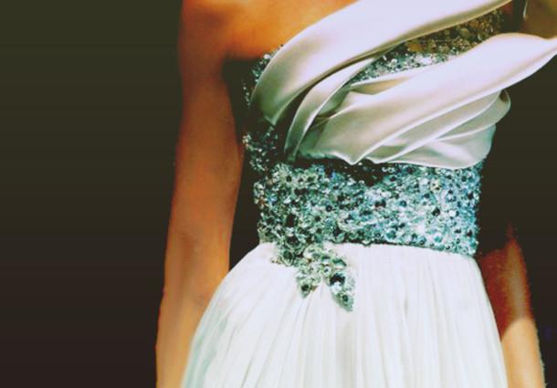 dress prom blue prom dress sparkling dress maxi dress white dress white one strap sequins wedding dress jewled long dress sparkle long prom dress