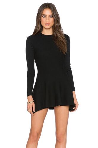 dress shift dress long black