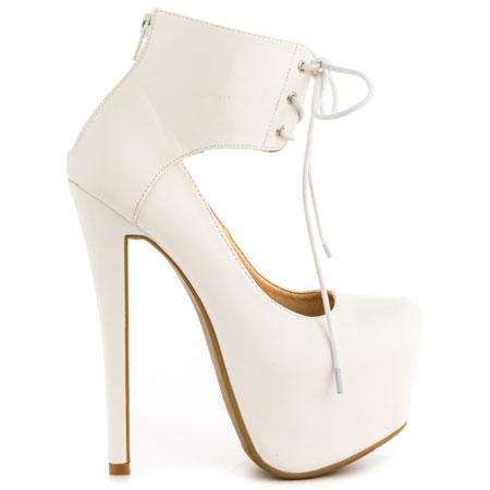 Liana - White, Shoe Republic, 59.99, FREE 2nd Day Shipping!