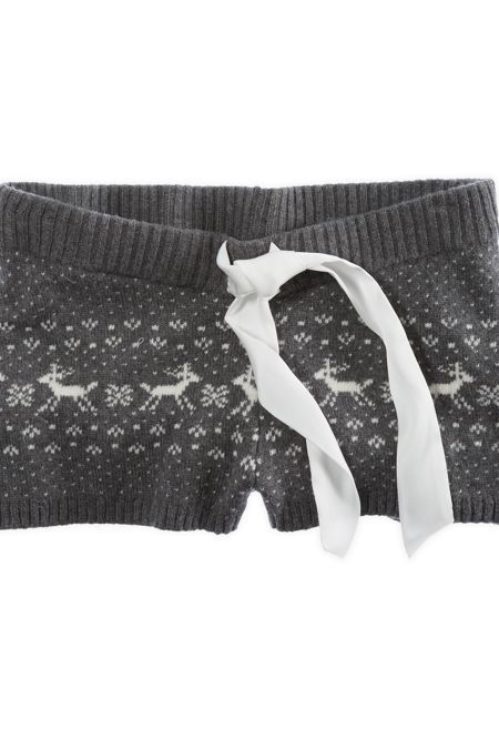 American Eagle Aerie Reindeer Knit Boxer Customer Ratings & Reviews - Top & Best Rated Products