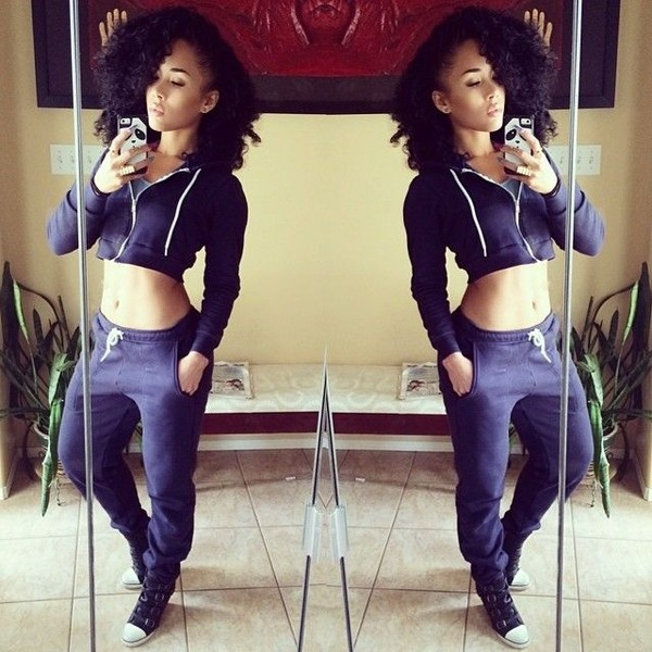 jacket cropped sweater cropped jacket joggers cropped sweatsuit sweats sweatshirt sweatpants pants