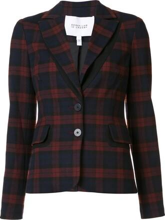 blazer women red jacket