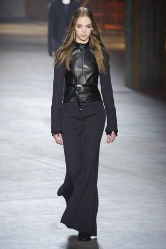 skirt diesel black gold maxi skirt all black everything milan fashion week 2017 fashion week 2017 runway