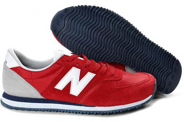 Women's new balance 420 Red White Grey Sneakers