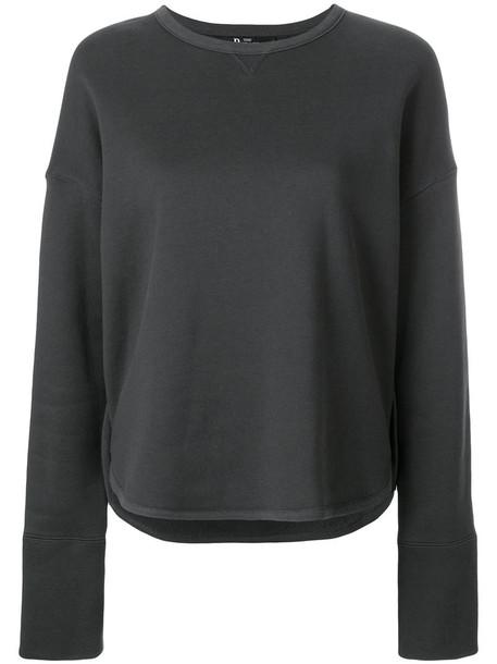 The Reracs sweatshirt women cotton green sweater