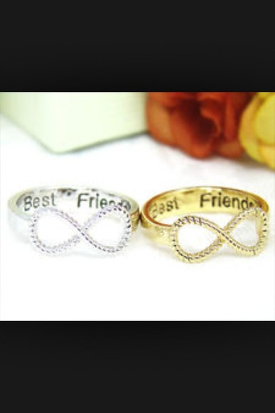 jewels silver rings gold rings bestfriends