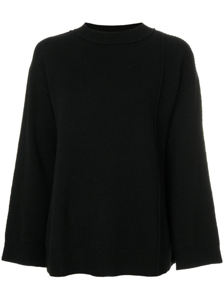 sweater oversized women black