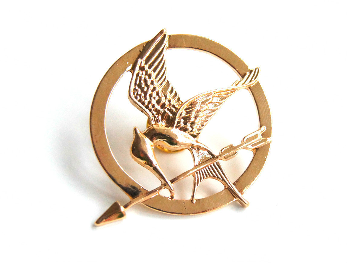 Hunger games pin,christmas gifts,birthday gifts,girlgifts,boygifts