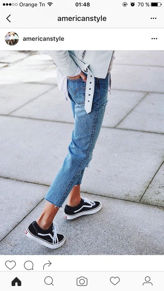 shoes sneakers vans