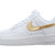 Nike Wmns Air Force 1 White Gold Womens Casual Shoes AF1 315115 144 | eBay