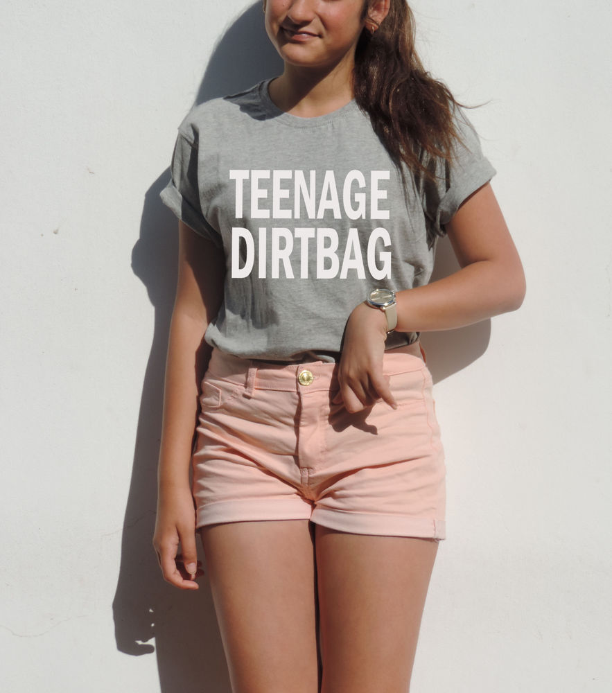 Teenage Dirtbag T Shirt 1D Lyrics Tumblr Unisex One Direction Clothing Hipster | eBay