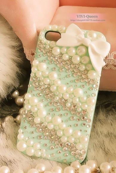pearls phone case