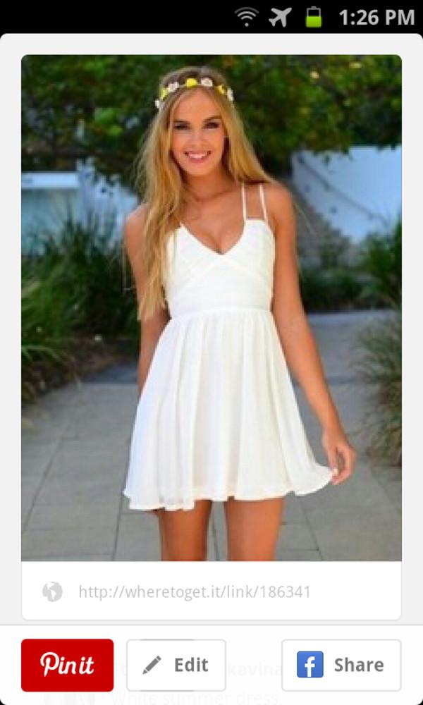 dress white summer