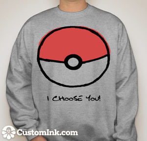 Customink.com design: pokemon created by missanonymouse6