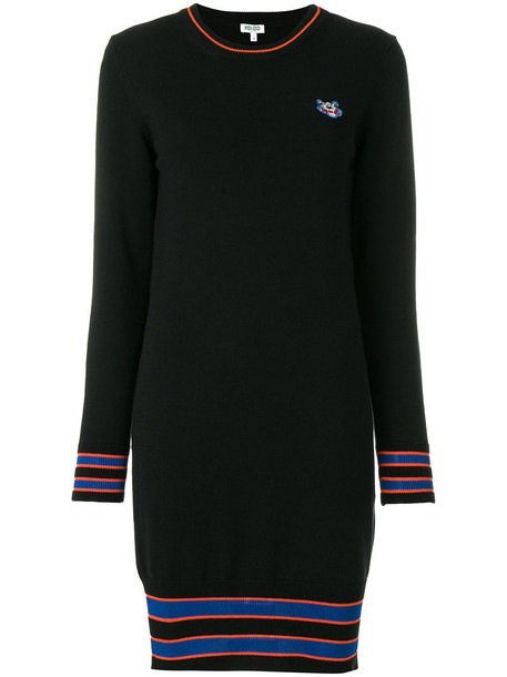 dress sweater dress women tiger cotton black